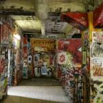 Kraakpand en kunsthuis Tacheles in Berlijn